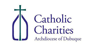 Catholic Charities of Archdiocese Dubuque Logo