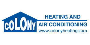 Colony Heating & Air Conditioning Logo