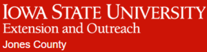 Iowa State Extension & Outreach - Jones County Logo