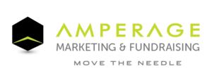 AMPERAGE Marketing and Fundraising Logo