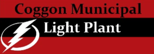 Coggon Municipal Light Plant  Logo