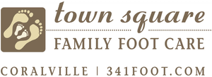 Town Square Family Foot Care Logo