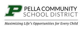 Pella Community School  Logo