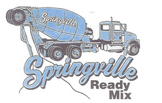 Springville Ready Mix, Inc.  Logo