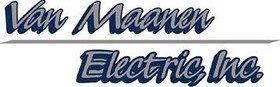 Van Maanen Electric, Inc.  Logo